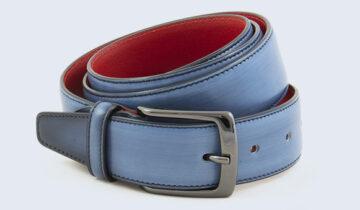 La cintura da uomo, da status symbol a moderno must di moda